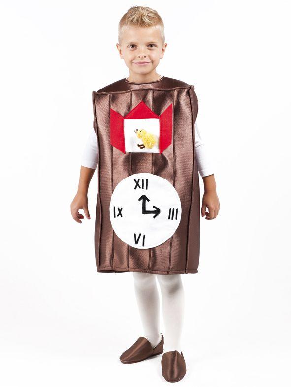 Disfraz de reloj para ni os buscar con google - Manualidades relojes infantiles ...