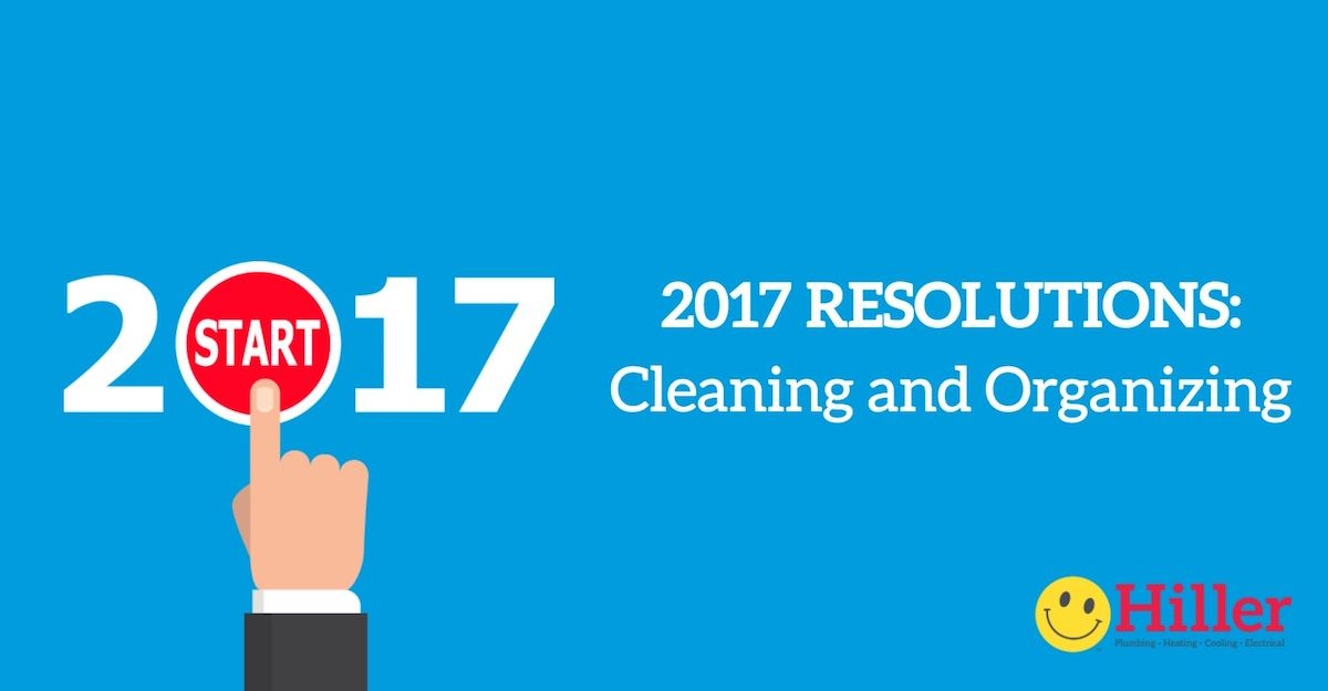 As you choose your own personal resolutions for 2017, pick some for your home too! Resolve to keep a clean house with our best home cleaning and organizing hacks.