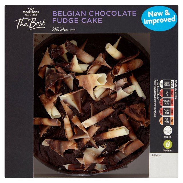 Morrisons The Best Chocolate Cake 406gProduct Information