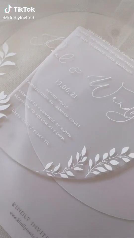 Wedding Invitation Video Wedding Invitations Wedding Signs Wedding Stationery