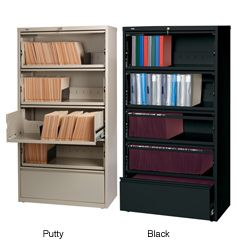 Filing Cabinets u0026 File Storage For Less  sc 1 st  Pinterest & Overstock.com - Hirsh 36-inch 5-drawer Lateral with Roll-out Shelves ...