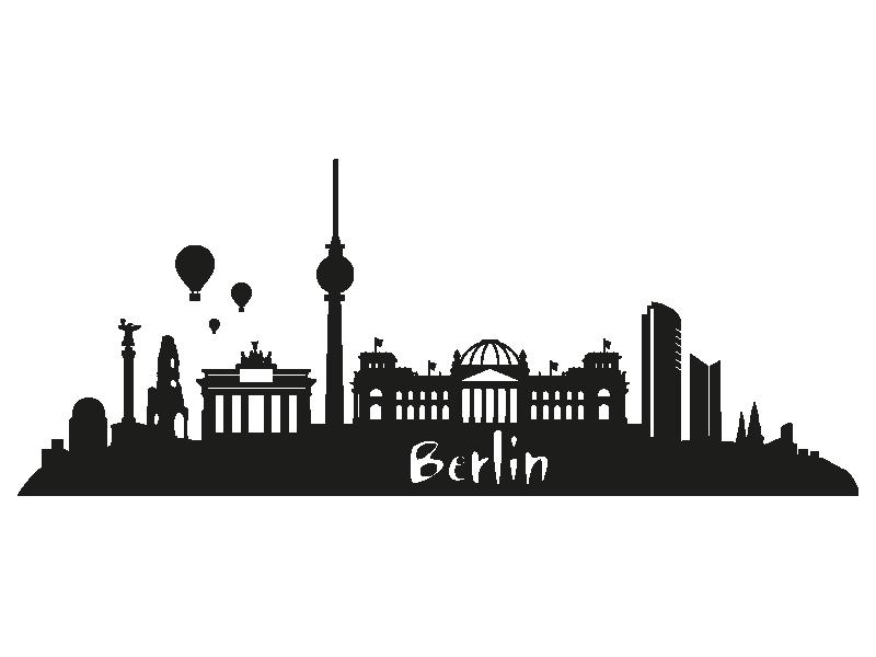 Berlin skyline Wahrzeichen berlin Skyline