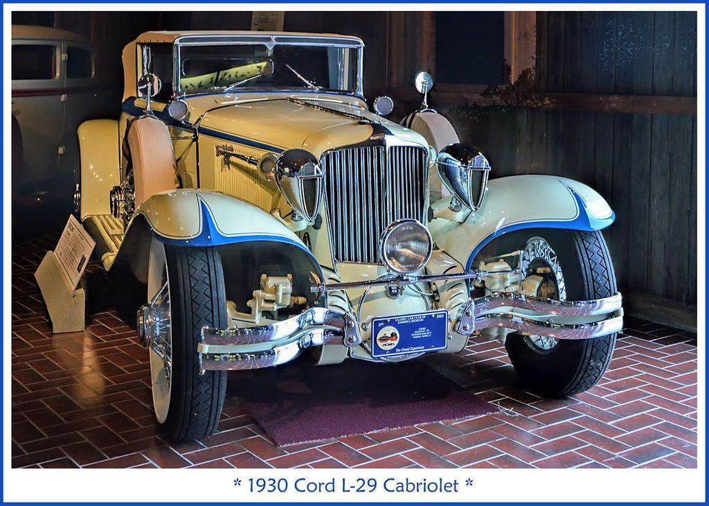 1930 Cord L-29 Cabriolet