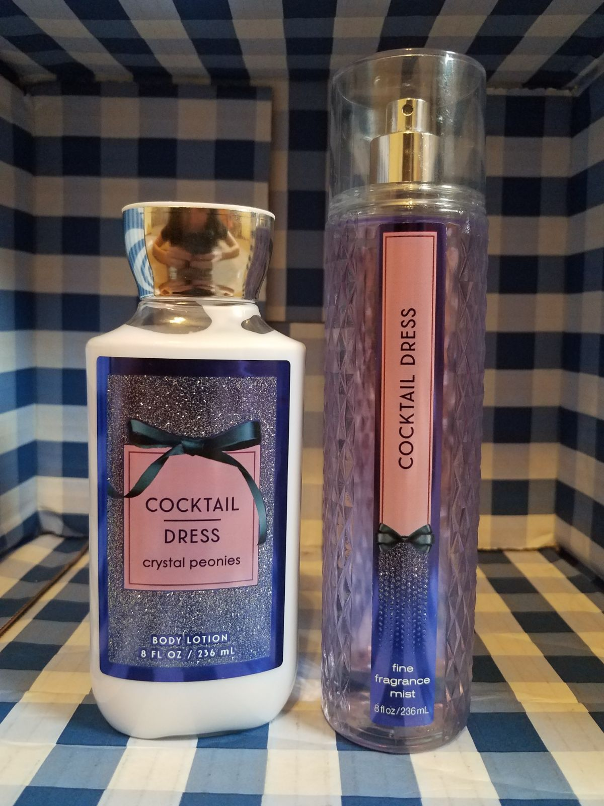 Bath And Body Works Cocktail Dress Set Includes Full Size Body