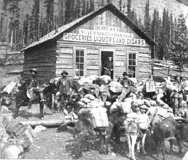 Colorado Gold Rush Store, Ca 1859