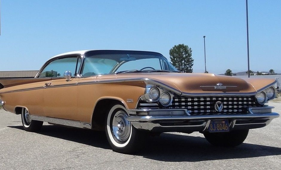 This 1959 Buick Electra two-door hardtop is a largely original, rust ...