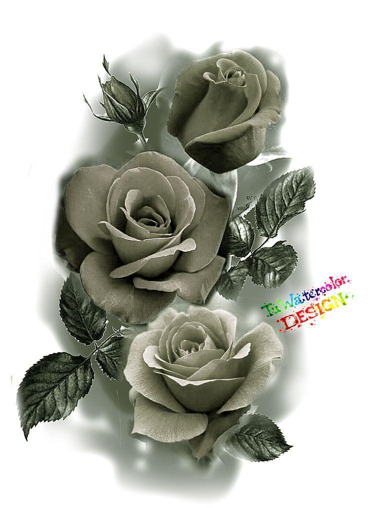 Rose Design Tattoo Beautiful Rose Tattoo Design Rose Flower Tattoos Blue Rose Tattoos