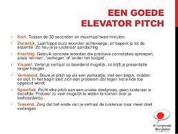 Afbeeldingsresultaat Voor Elevator Pitch Voorbeeld Student