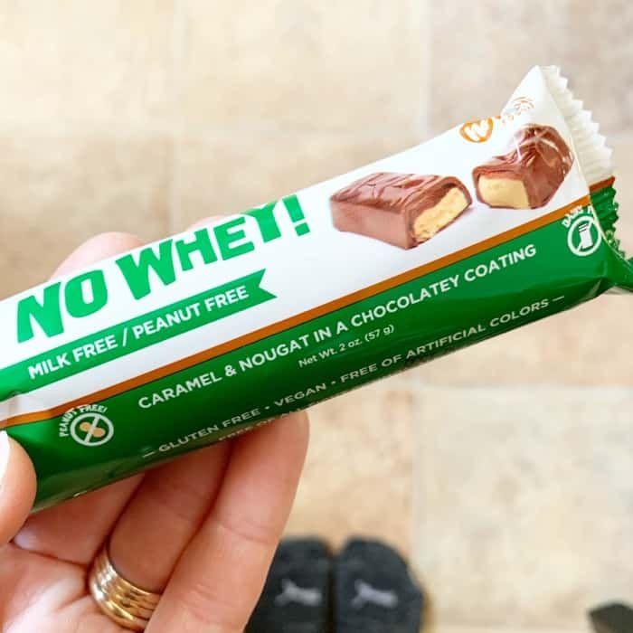 Dairy-Free Snickers Candy Bar By No Whey