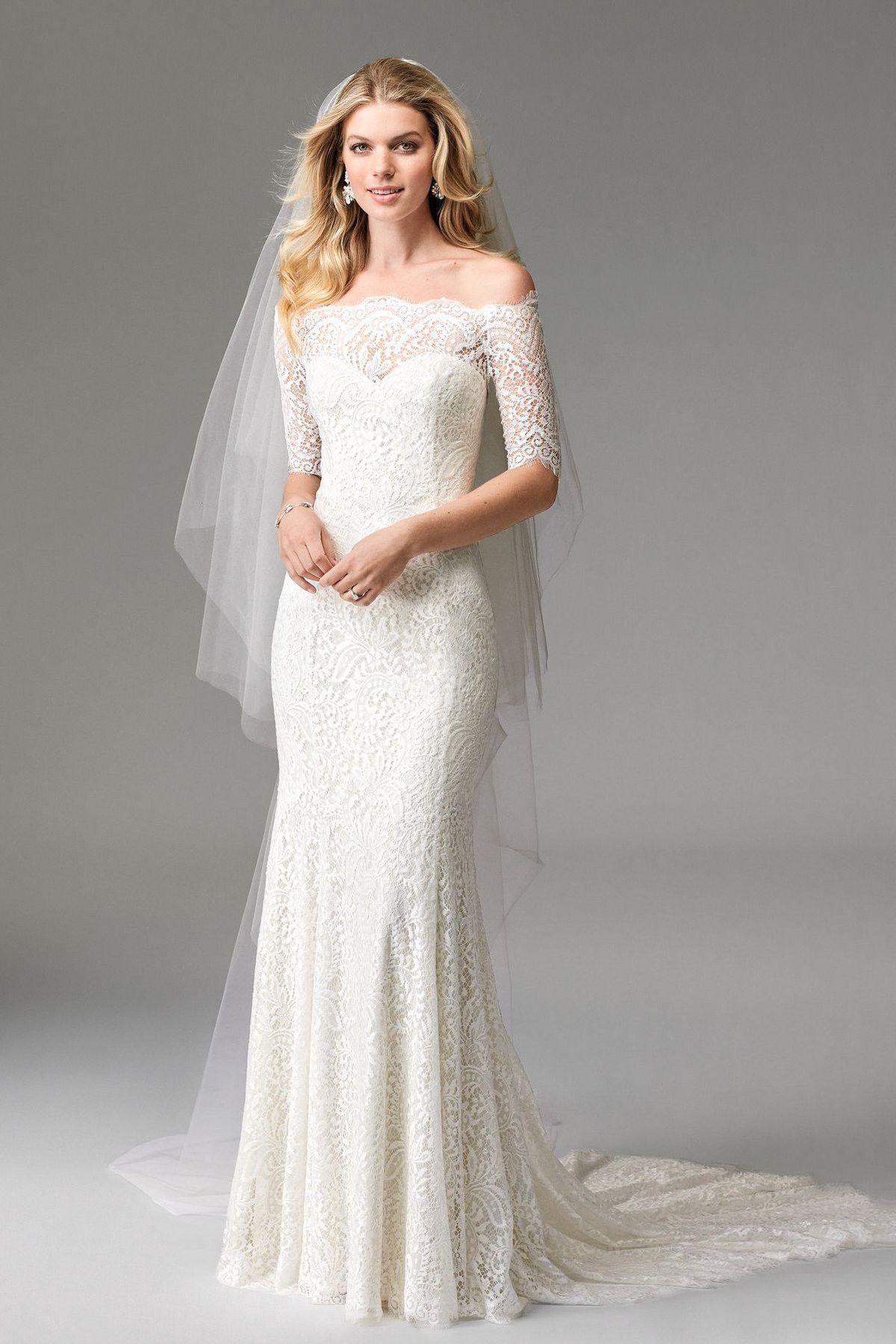 Wtoo By Watters Savannah 17110 Wedding Dress Off White By Bridal Expressions Kjole Bryllup Bryllupskjoler Kjole Med Blonder