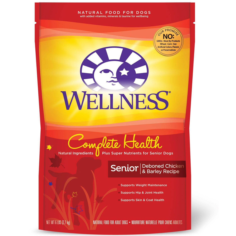 Wellness Complete Health Deboned Chicken Barley Senior Dog Food Senior Dog Food Recipes Best Senior Dog Food Dog Food Recipes
