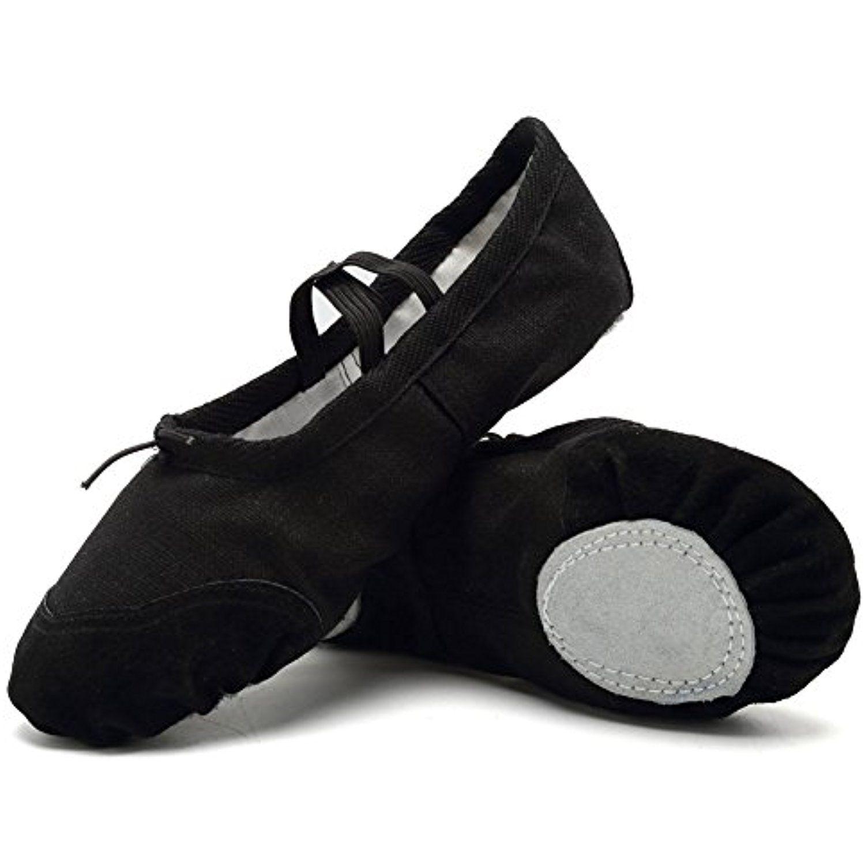 CIOR Ballet Slippers Canvas Dance Shoes Gymnastics Yoga Flats Toddler//Little//Big