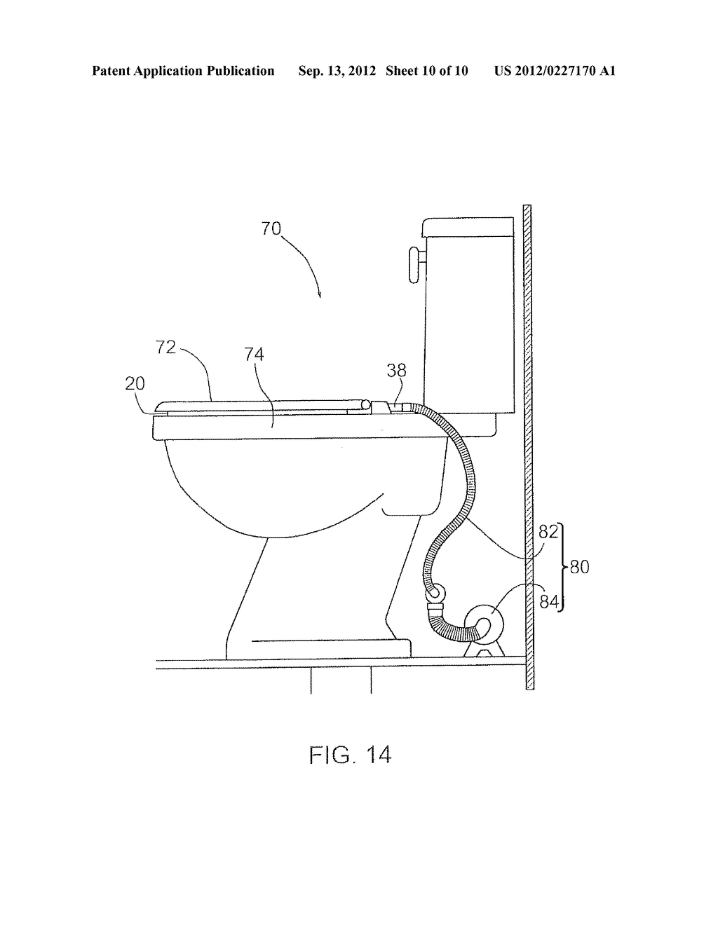 medium resolution of venting attachment for use with a toilet diagram schematic and