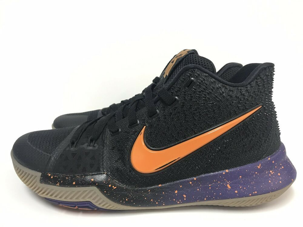 watch 9789a c278f Nike Kyrie 3 Promo Black Clay Orange Purple Size 9 Sample RARE Suns  shoes