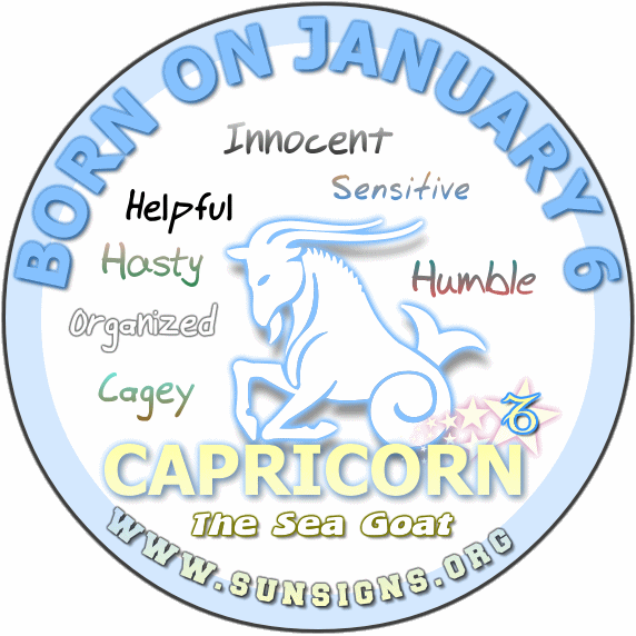 january 6 sign astrological