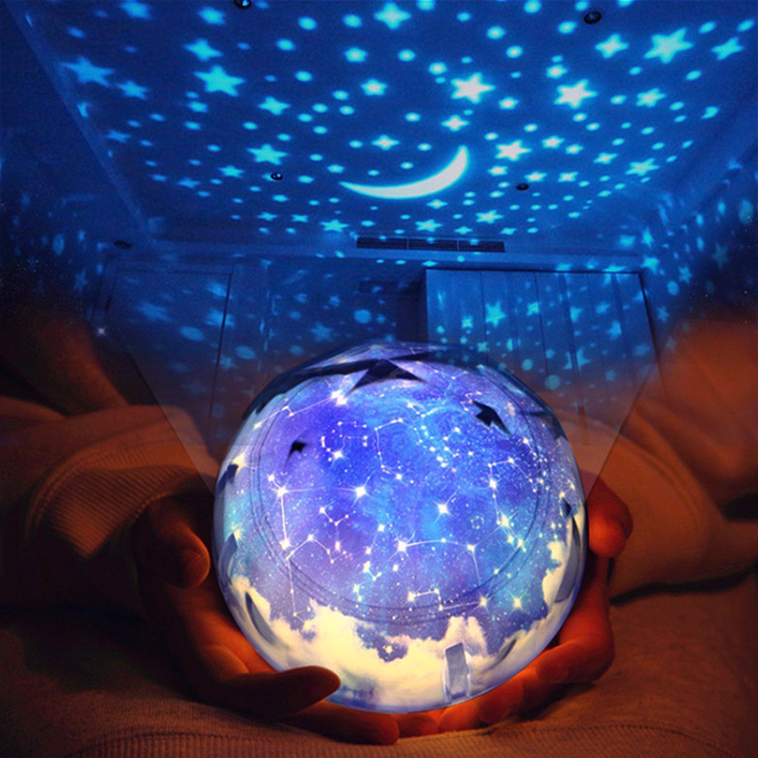 Star Night Light For Children Universe Projection Lamp For Kids