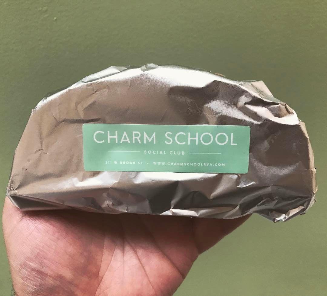 Charm School Social Club Rva Richmond Virginia Va Rva Stamp Stamps Vegan Ice Cream Custom Rubber Stamps Handmade Stamps Embossed Seal