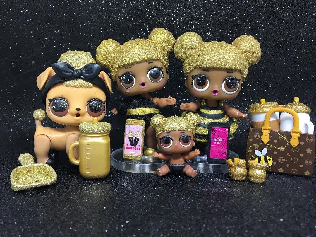 Queen Bee Family Queen Bee Family Lolsurprise Lolsurprisebr Lolpicsbr Bestpicsoflolsbr Asmelhoresfotosdelolbr Lo Lol Dolls Kids Doll House Rainbow Crafts