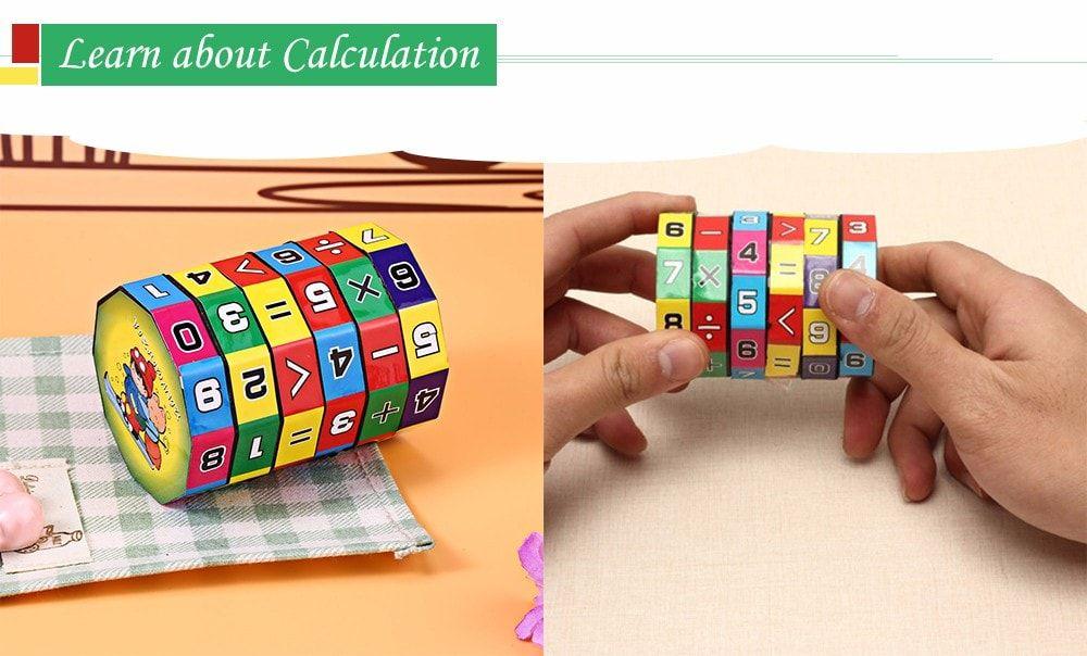 Montessori Mathematical Intelligence Stick Fundemental Educational Toys for Kids