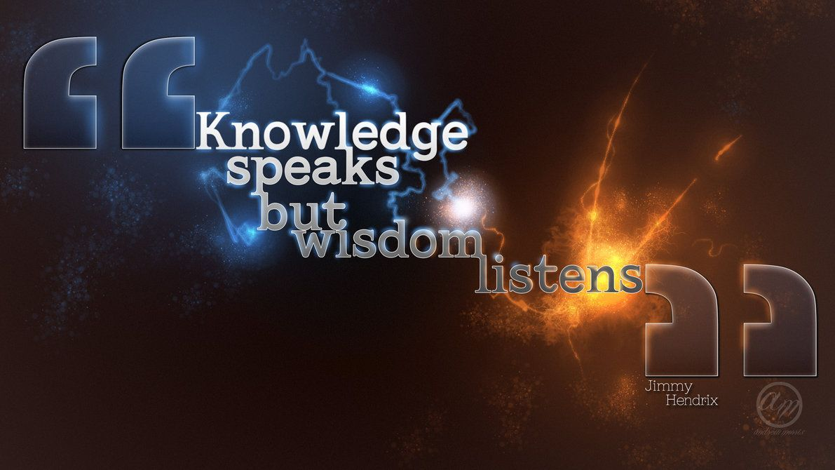 The Difference Between Knowledge And Wisdom Spirituality Wisdom