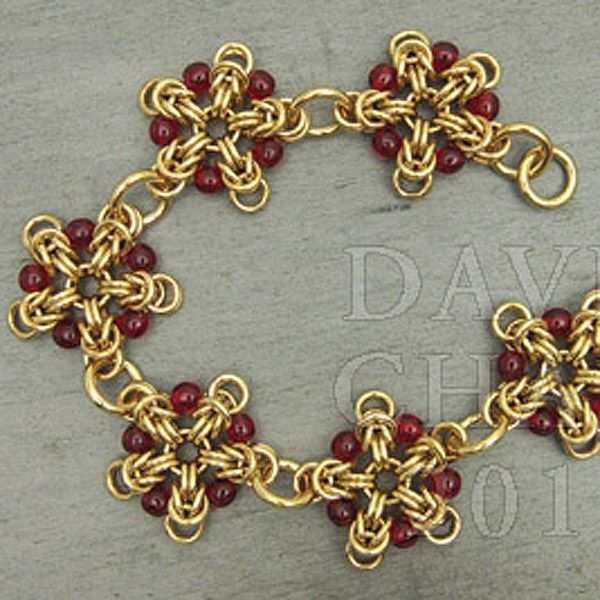 Make A Chain Mail Bracelet: Instructions :: Tutorials :: Scott David Plumlee Tutorials