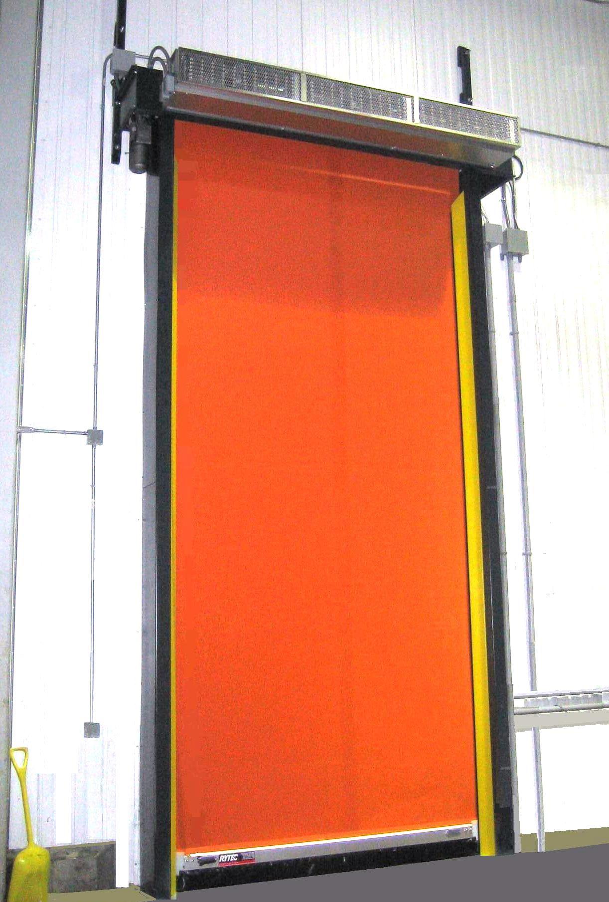 Rytec Doors Turbo-Seal® SR Freezer World\u0027s fastest self-repairing freezer door & Rytec Doors Turbo-Seal® SR Freezer World\u0027s fastest self-repairing ...