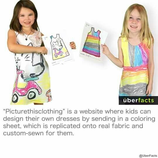 Pin By Kendyll Blackburn On Fun Facts Kids Design Custom Sewing Design