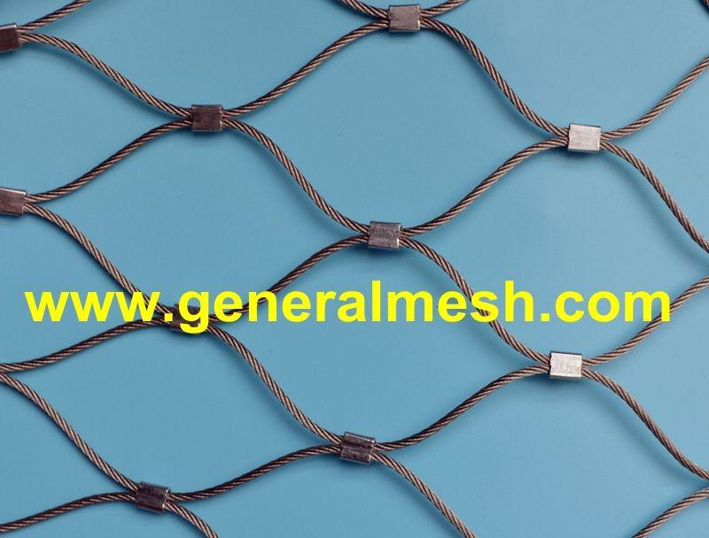 Plasa Cabluri Inox Specificații Diferite Diametre Ale Cablurilor 1 2 Pană La 4 0 Mm Dimensiuni Diferite Ale O Stainless Steel Cable Stainless Steel Wire Mesh