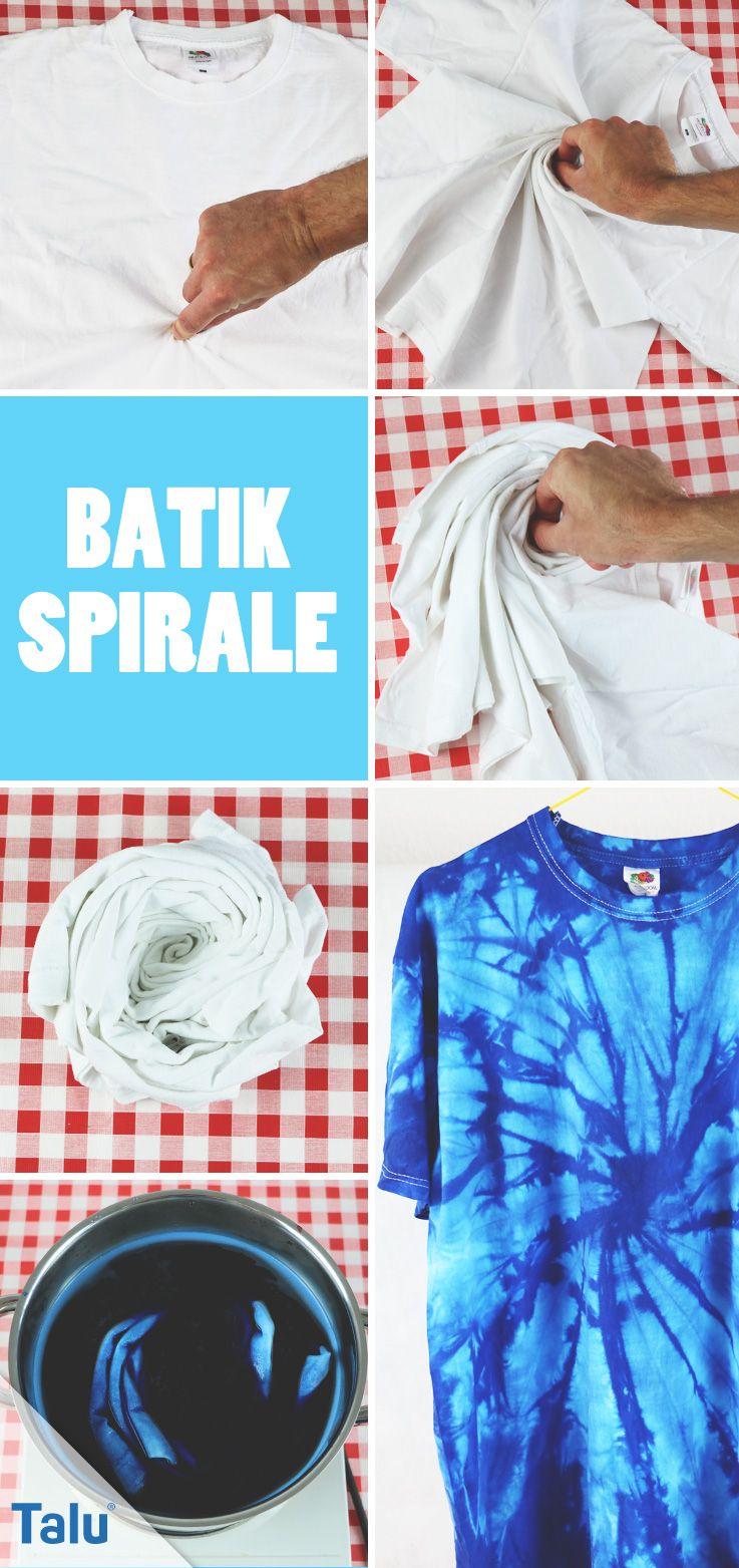 Bekannt Batik selber machen - DIY-Anleitung für T-Shirts + Batikfarben AD19