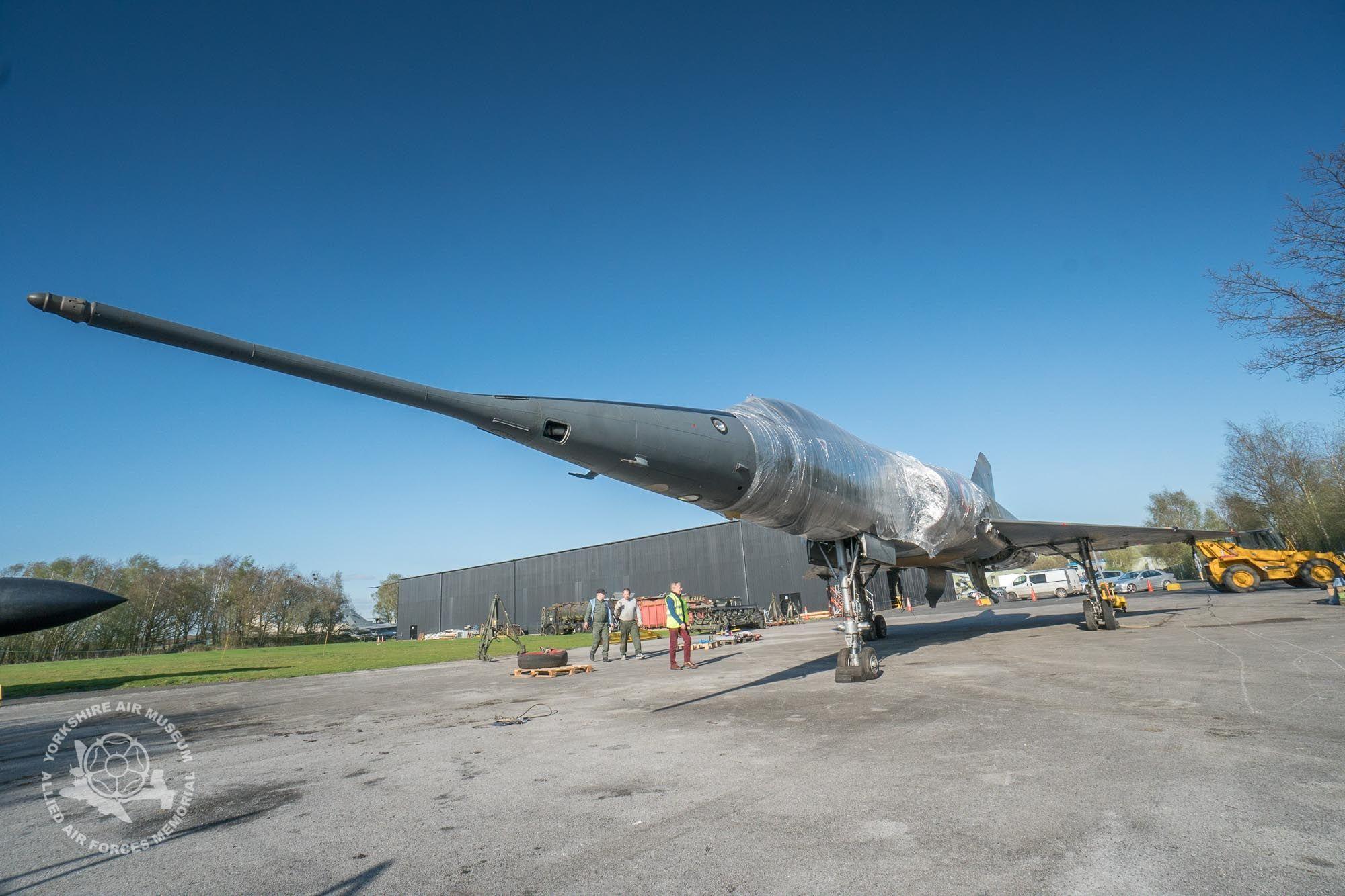 Dassault Mirage IVA Yorkshire Air Museum Non