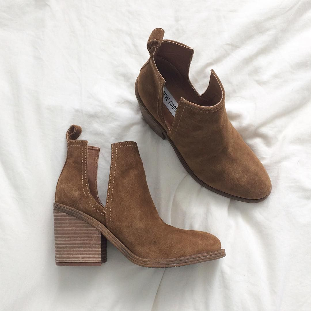 324ce621be Steve Madden Sharini Cut Out Booties | Blog: www.kristeneil.com | My ...