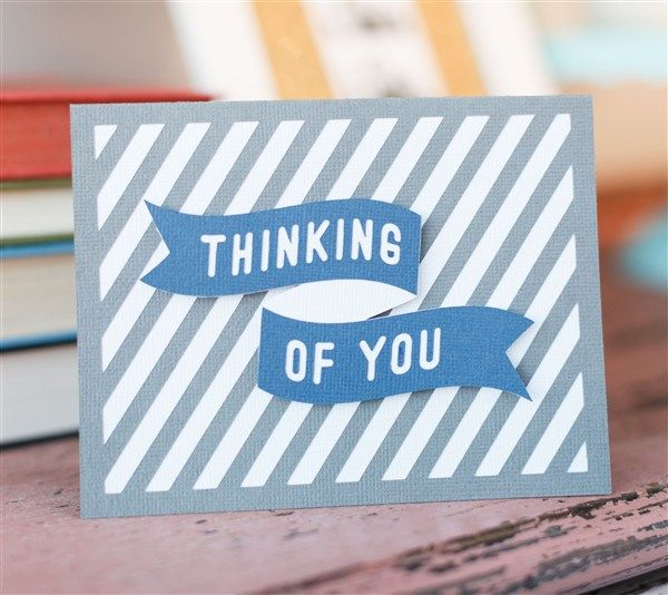 Thinking Of You Card Make It Now With The Cricut Explore Machine