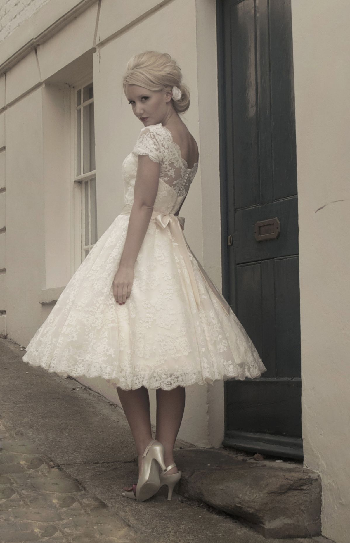 Gothic fairy wedding dresses fairygothmother fifties style short