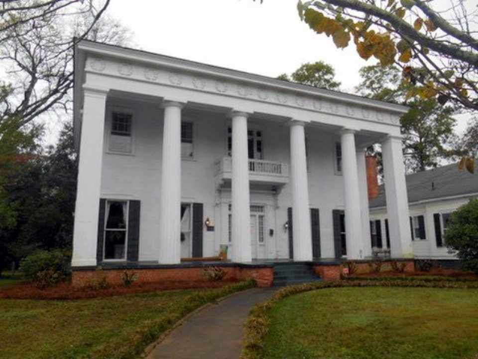Rare And Pure Antebellum Greek Revival Temple Form House