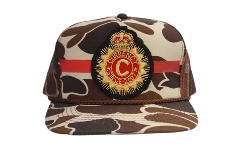 Currency Crest Trucker – Currency Campaign