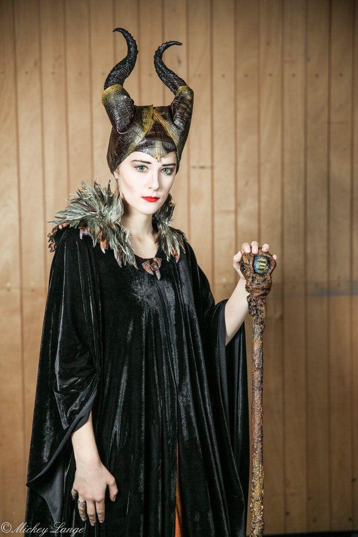 Beautiful Replication Of Maleficent S Sealskin Costume