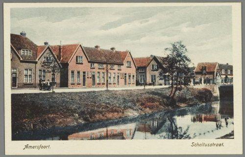De Scheltusstraat, gezien vanuit Plantsoen-Noord....