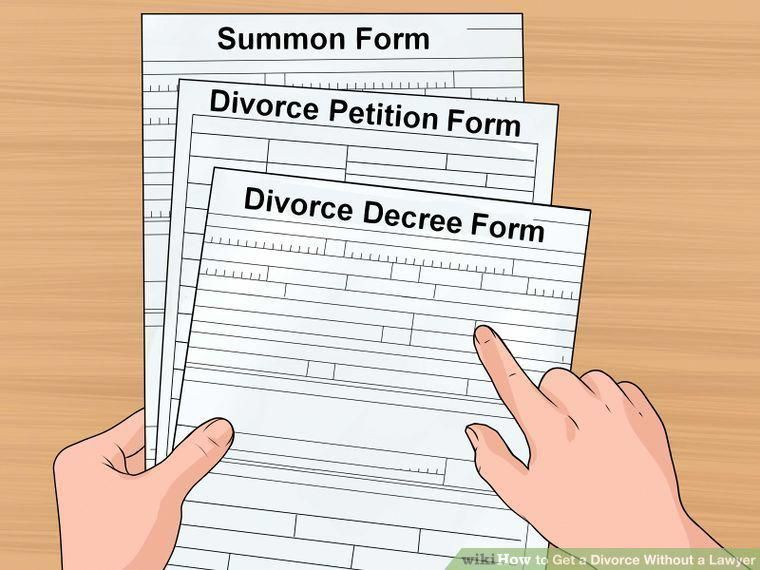 How To Get A Divorce >> How To Get A Divorce Without A Lawyer With Pictures