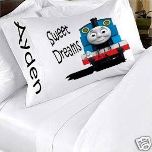 Thomas The Train Pillowcase Thomas The Train And Friends Personalized Pillowcase Kids Childs