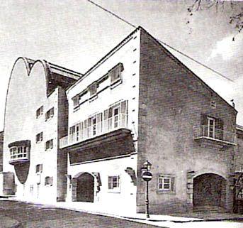 El front n recoletos estaba sito en la calle villanueva fue erigido por eduardo torroja y - El escondite calle villanueva ...