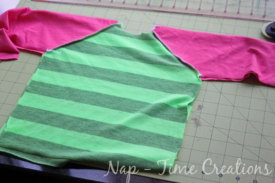 Multi-Size Free Raglan shirt pattern Kids sizes 18mths-6t. Full ...