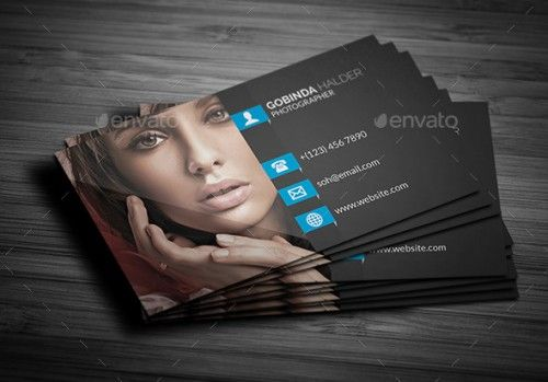 A List Of Exceptional Photography Business Card Templates - Photography business cards templates