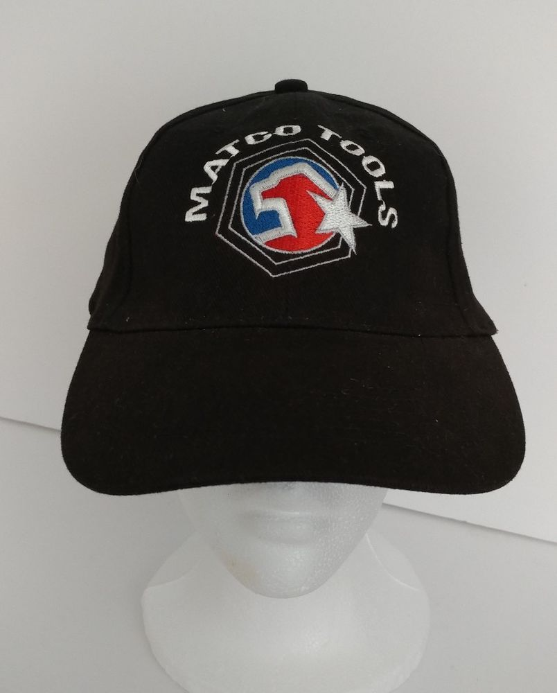 Matco Tools Baseball Cap New Black