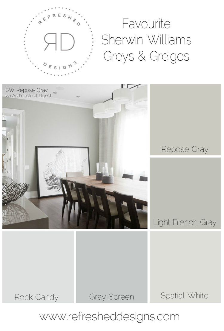 Finding The Perfect Gray Paint Best Sherwin Williams Greys And Greiges
