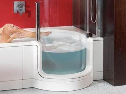 baeras y duchas para baos pequeos