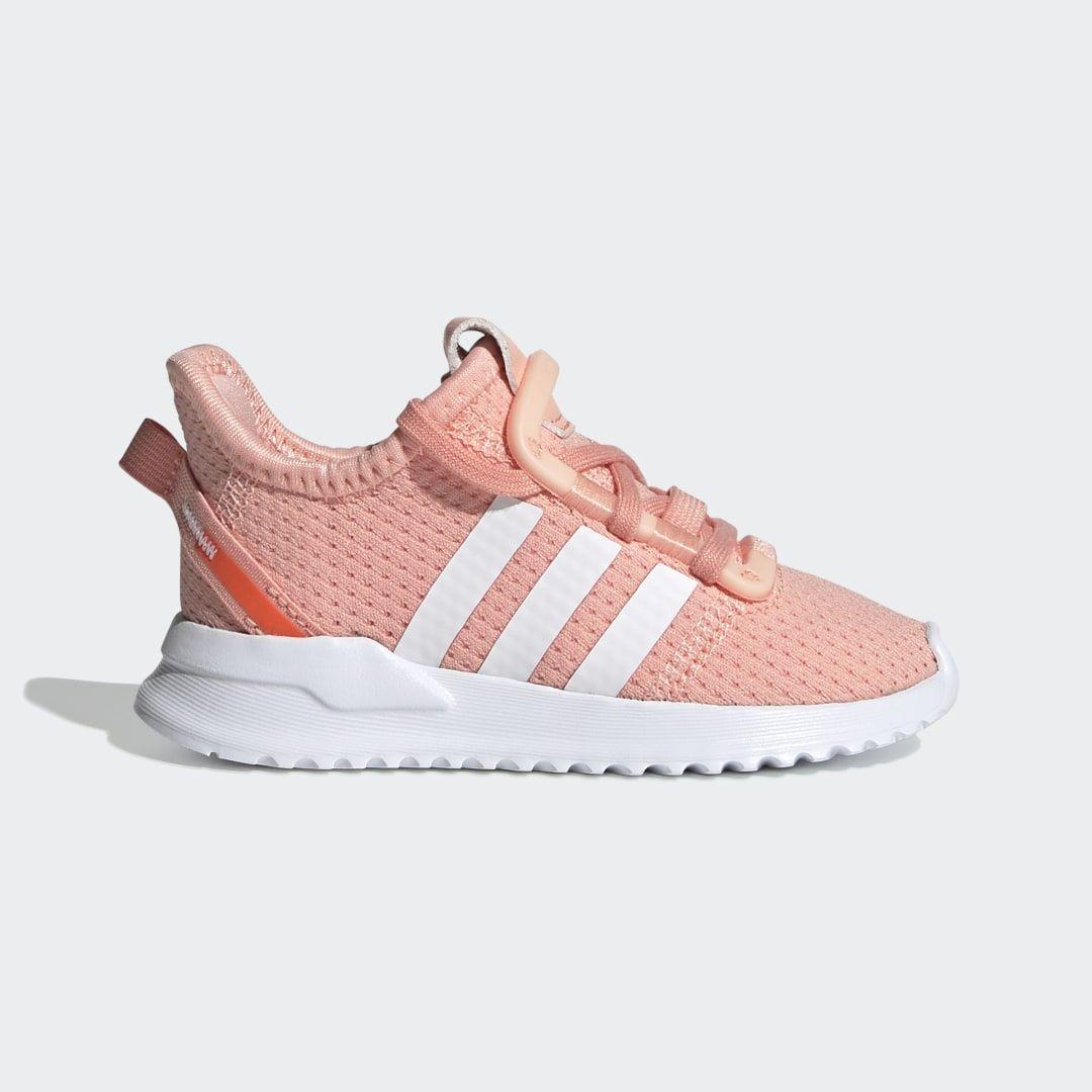 U Path Run Shoes Kid Shoes Pink Adidas Adidas