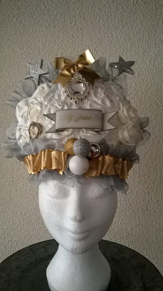 Shabby Chic Birthday Crown White by LadyMallemour on Etsy