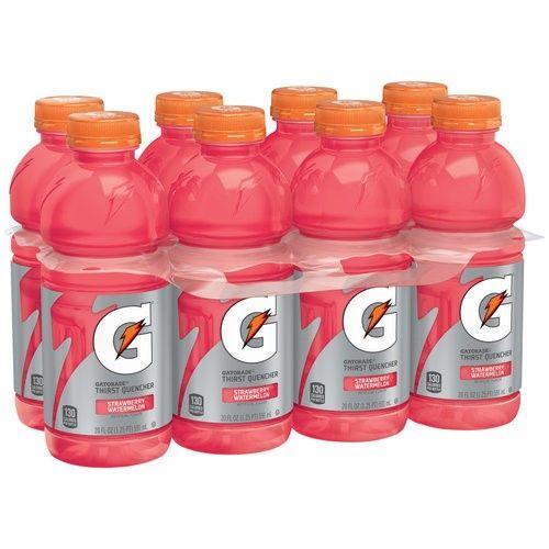Gatorade Thirst Quencher Sports Drink Strawberry Watermelon 20 Fl Oz 8 Ct Gatorade Sports Drink Drinks