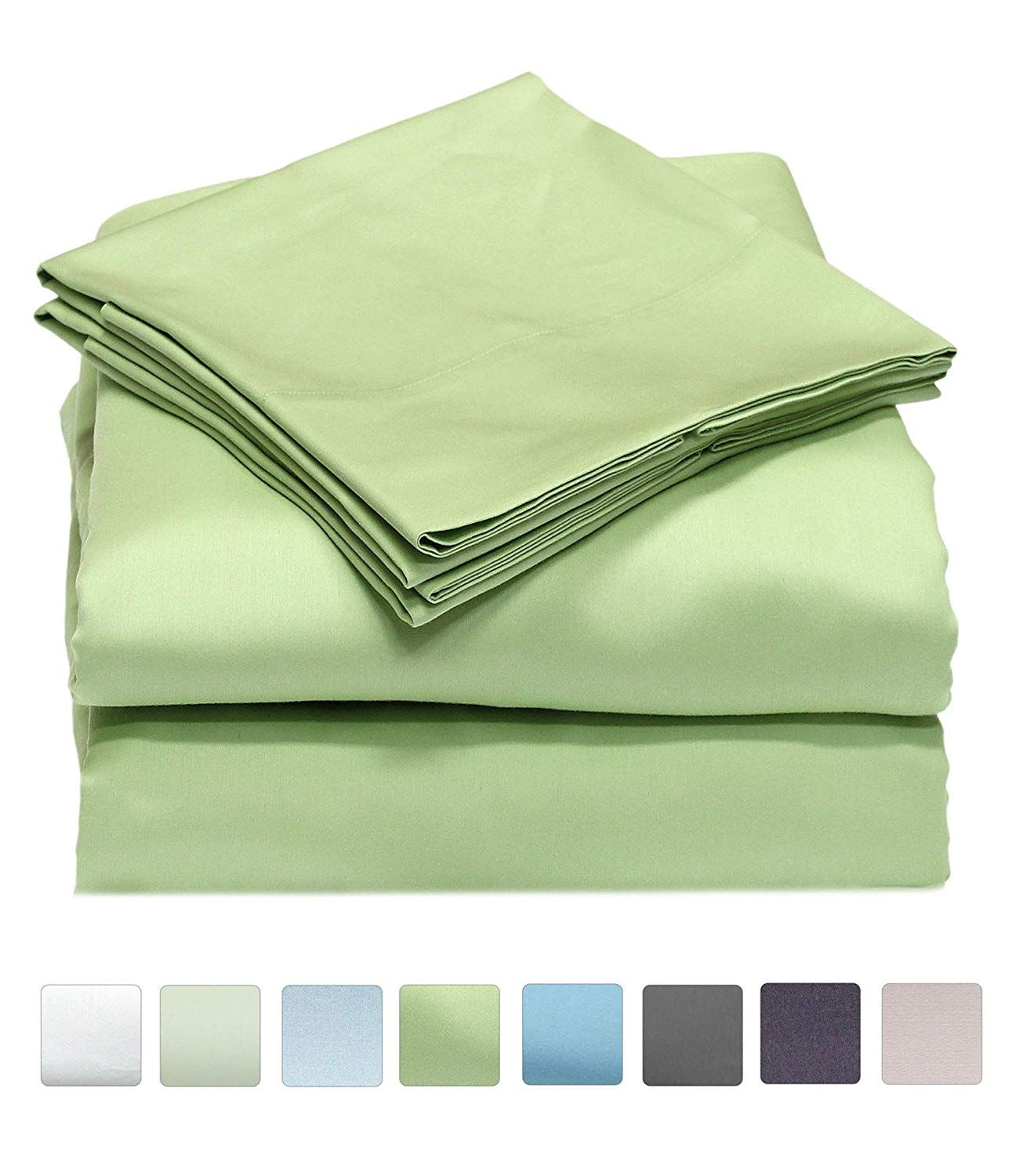 Callista King Size Sheet Set Luxury Cotton Extra Soft Sateen