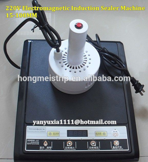 500e Electromagnetic Induction Sealer Bottle Sealing Capping Machine Plastic Bottle Cap Seale Plastic Bottle Caps Induction Heating Electromagnetic Induction